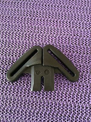 BABY TREND Flex Loc Car Seat Strap Clips Harness Waist CLIPS Black Replacement