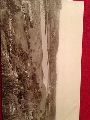 Real photo Postcard Haweswater Silverdale Morecambe Published By Lilyland Series