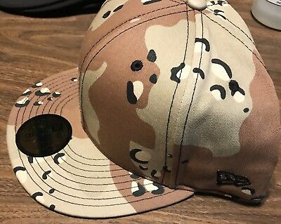New Era 59FIFTY-BLANK DESERT STORM CAMO Fitted Hat Size 8 1/2 New