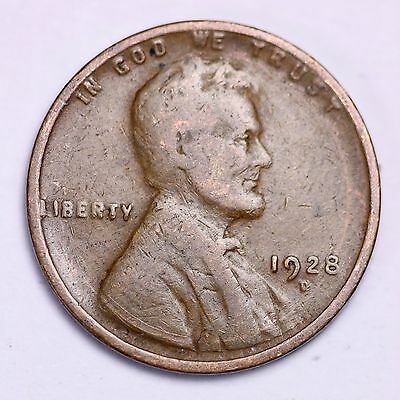 1928-D Lincoln Wheat Cent Penny LOWEST PRICES ON THE BAY!  FREE SHIPPING!