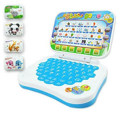 Baby Computer Laptop Tablet Toy Children Educational Early Learning Machine Toy~