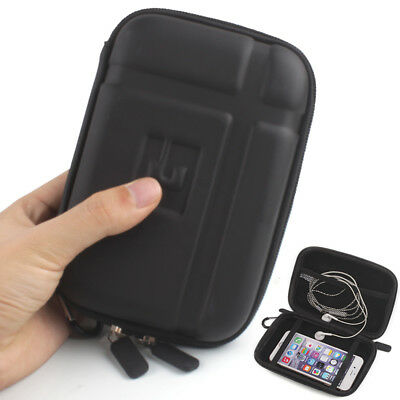 5inch Hard Shell GPS Carry Case Bag Zipper Cover Pouch for GPS Mobile Phone