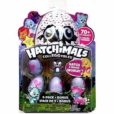 Hatchimals Colleggtibles Pack 4 Bonus Mini Egg Carton Kids Toy Xmas Gift Present