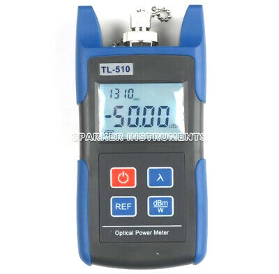 TL510A Optical Power Meter with FC SC ST Connector -70~+10dBm Telecom Test #RS8