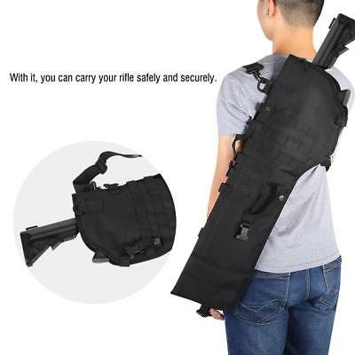 Tactical Molle Rifle Scabbard Holster Gun Military Hunting Storage Shoulder Bag