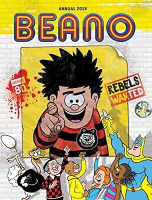 Beano Annual 2019 (Annuals 2019) by DC Thompson Hardback Book NEW