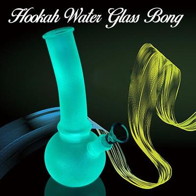 10''Glass Water Hookah Pipe Collectible Tobacco Smoking Bong Rig Best Pipes Us