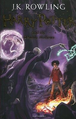 Harry Potter and the Deathly Hallows: 7/7 Ha by J.K. Rowling Paperback Book NEW