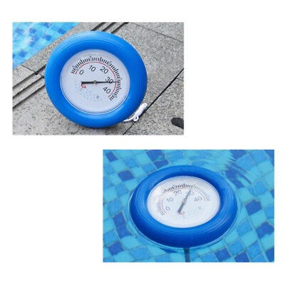 Float Thermometer Swimming Disc Shape Pool Water Temperature Pond Sauna Bath Tub