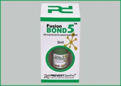 Pack of  10 Prevest Denpro Fusion Bond 5 One Component Bonding Adhesive