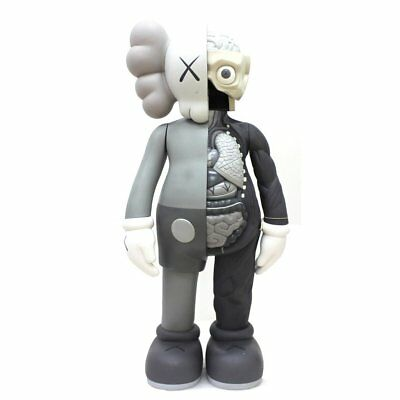KAWS - Companion Flayed (Grey) - Vinyl sculpture Open edition Unopened box
