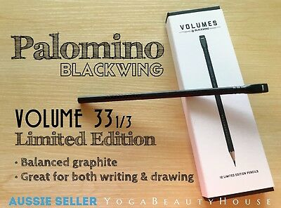 Palomino Blackwing Limited Edition 1pc Volume 33.33 Balanced Pencil art pen draw