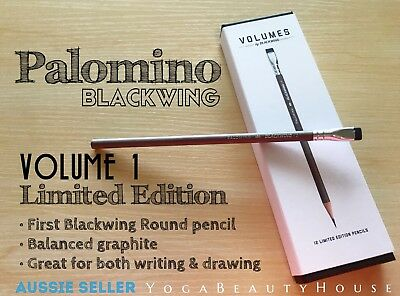 Palomino Blackwing Limited Edition 1pc Volume 1 Balanced Pencil art draw pen art