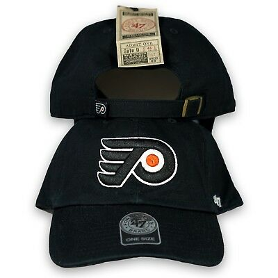 Original 47 Brand Philadelphia Flyers Strapback Cap Dad Cap Hat NHL Icehockey