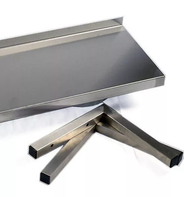 Stainless Steel Shelf 200 Deep, All Widths up to 2400 Commercial Kitchen