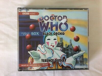 DOCTOR WHO BLACK ORCHID BBC AUDIO BOOK CD (our ref 8)