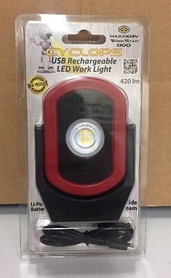 Maxxeon Workstar 800 Cyclops Usb Rechargeable Led Work Light Mxn00800