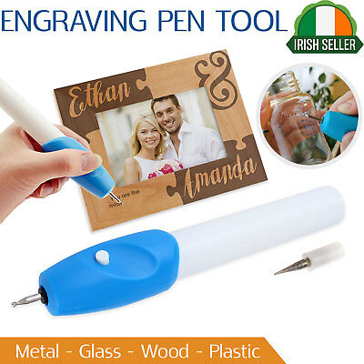 Handheld Engraving Pen Etching Hobby Craft Rotary Tool For Jewellery Glass Metal