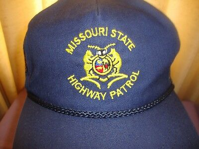 Missouri State Highway Patrol MSHP Ball Cap Hat Adjustable Made in USA
