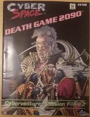 Death Game 2090 Cyberspace Cyberventure Mission File for Cyberspace