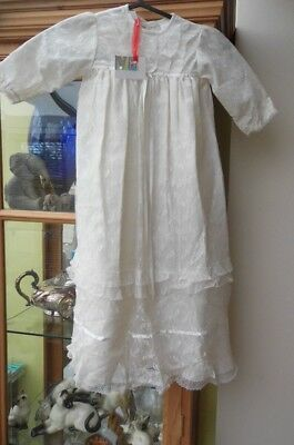 1970s vintage Christening Gown