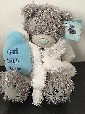 d4582bc6ca6 Get Well Soon - Me To You Tatty Teddy Bear In Dressing Gown - Hot Water