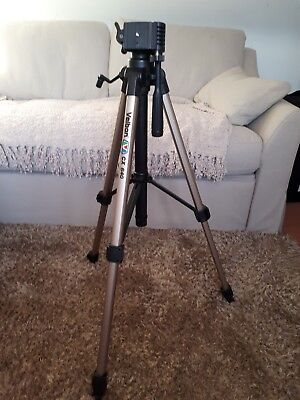 Velbon cx-640 tripod with carry case - used