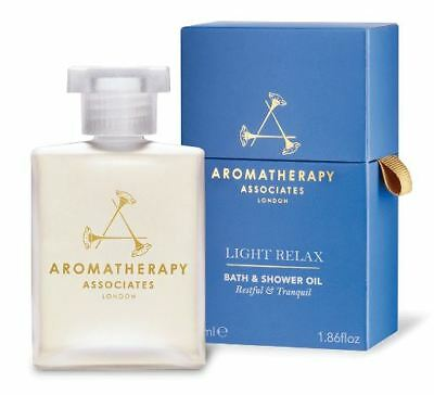 Aromatherapy Associates Light Relax Bath & Shower Oil 55ml * NEW & SEALED *