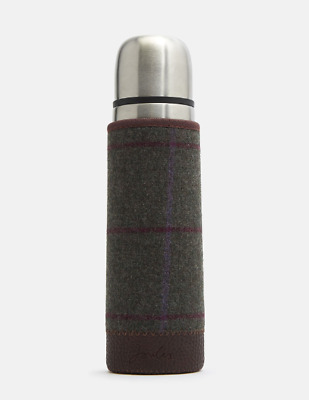 *NEW - IDEAL CHRISTMAS GIFT* Joules Tweed Picnic Flask