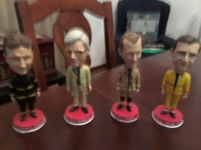 Fireman Bobblehead collection set of 4 Limited Edition