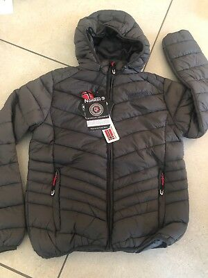 Geographical Norway Expedition- Boys coat Padded Winter Puffer Jacket 12 years