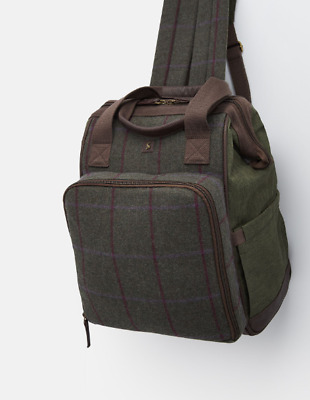*NEW - IDEAL FOR CHRISTMAS* Joules Tweed Picnic Rucksack