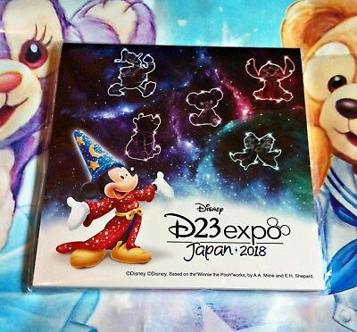 D23 Expo Japan 2018 Limited Novelty Disney Store Mickey Exclusive Memo Note Pad
