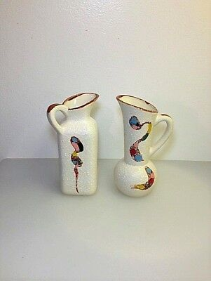 Vases, Small (2), Vintage (Interesting)