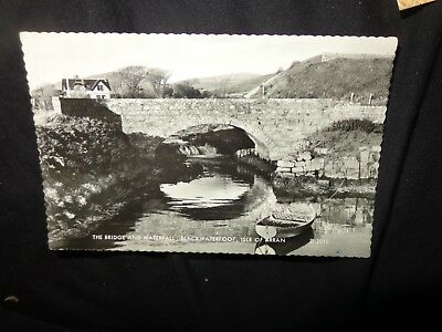 Valentine's RP  Postcard Bridge and Waterfall, Blackwaterfoot, Isle of Arran 199