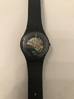 Swatch GA101 High Tech 2 Watch (Back) - 1984-1985 - Extremely Rare Collectible