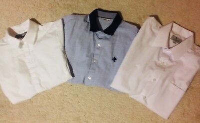 Boys NEXT SIGNATURE Shirt Bundle Smart Age 11-12 Years VGC Worn Once Immaculate