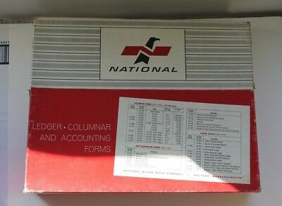 National Ledger, Columnar & Accounting Forms - 18-410 Three Boxes