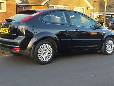 Black Ford Focus Titanium 5 Speed Manual average 3,000 miles per yr, last 4 year