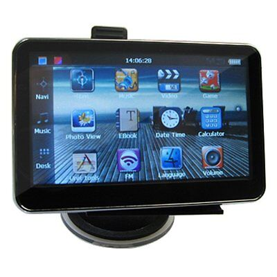 "4.3"" CAR GPS 4GB Card+FM+MP4 SpeedCam SAT NAV 3DPG"