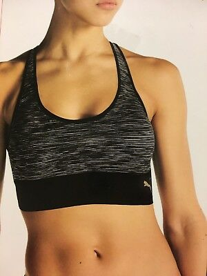 PUMA 2 Pack Seamless Sports Bra Strappy Criss Cross Back Size & Color varies