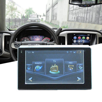 "5"" Car GPS Navigation System Navigator SAT NAV 8GB Free Maps Update MP4 SpeedCU0"