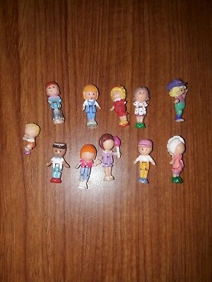 11 Polly Pocket Figures