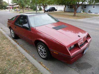 1986 Chrysler Other  1986 Chrysler Laser XE T-Top Turbo (West Coast Car, Almost No Rust!!)