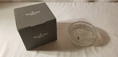 Stunning Waterford Crystal Wine Bottle Coaster New in Box