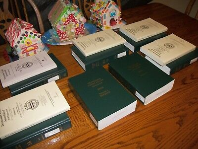 Tennessee Code Annotated Lot Hardback Books Plus  2016 Tn Court Rules 1&2