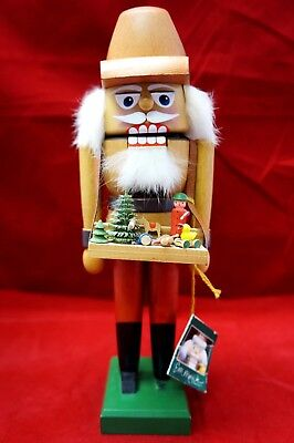 E M Merck Collection Nutcracker Old World Christmas Toy Maker Vintage German 11""