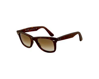 Ray-Ban Original Wayfarer Medium Ecaille Foncé Brun Dégradé RB2140 902 51 50 d187fbbcfb0c
