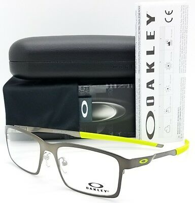 bb3c4a4e9a4b NEW Oakley OX3232 RX Base Plane Frame Silver Retina OX3232-0654 54mm  Rectangle