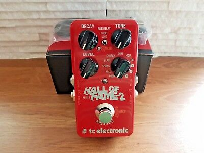 TC Electronic Hall Of Fame 2 Reverb Pedal (HOF II)